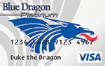 HCU Blue-Dragon Visa Credit Card supports HCC